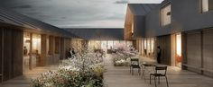 CREO ARKITEKTER and WE architecture Shares First Prize for Danish Psychiatric Hospital