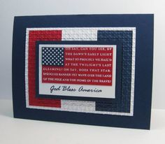 God Bless America by Barb Mann - Cards and Paper Crafts at Splitcoaststampers