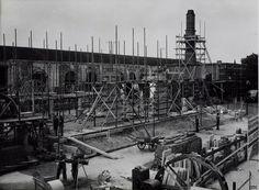 1951  bouw van het 3é station