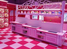 Kids dream house the barbie experience design ideas for small spaces Barbie Life, Barbie Dream House, Barbie World, Barbie Room, Barbie Theme, Malibu Homes, Retro Renovation, Pink Houses, Real Life