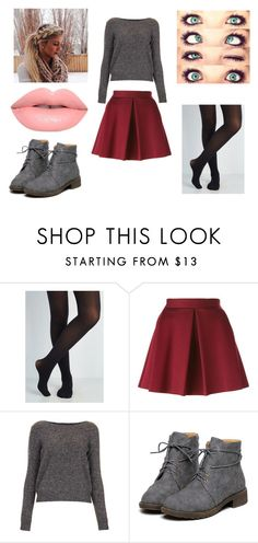 """""""Untitled #320"""" by rachel-lynn786 ❤ liked on Polyvore featuring P.A.R.O.S.H., Topshop and Lime Crime"""