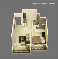House Design 500 Square Feet, Visit the post for more.