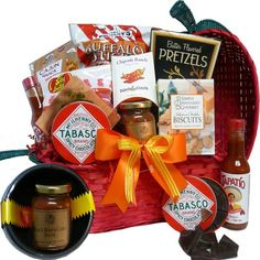 Art of Appreciation Gift Baskets Oh So Hot Jalepeno Chili Pepper Snack Gift Basket Gourmet Gift