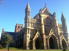 Saint Albans Cathedral and Abbey, St. Albans, England