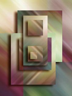 Kauf 'Modern Art Part IV' von Andreas Wemmje auf Leinwand, Alu-Dibond, (gerahmten) Postern und Xpozer.