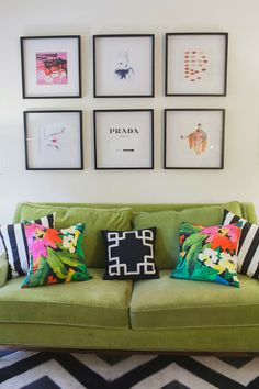 Style Cusp: Decor // The Gallery Wall