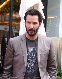 Keanu reeves CEFF Paris 14/06/2014