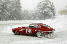 Jaguar Rally Car
