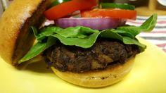 Vegan bean & squash burger #iloveburgers #blackbeanburger #sandwich #culinarycreation #foodpic #foodgasm #foodporn #foodie #foodhunter #foodbloggers #eatwell #eathealthy #healthyfood #healthyeating #realfood #detroitfoodnetwork #detroitfoodie #detroitfood #delish #delicious #deliciousfood #deliciousness #instafood #instaveganfood #foodnetwork #owntv #wholefoods #bestfoodever #bestfood #forksoverknives