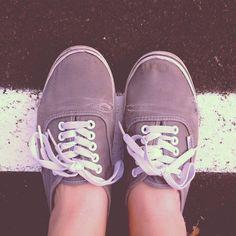 Grey vans.