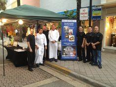 The @Blue Moon Fish Co Restaurant team at Las Olas Food and Wine Festival