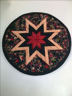 folded star quilt pattern quilt | Deborah Miller, the pattern designer, made this beautiful Folded Star ...