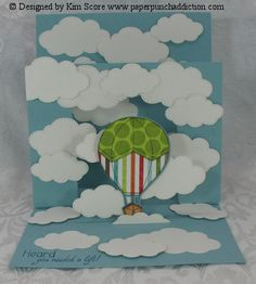 Paper Punch Addiction: Showcase Card Technique...link to download tutorial for making showcase cards is beneath photo on website.