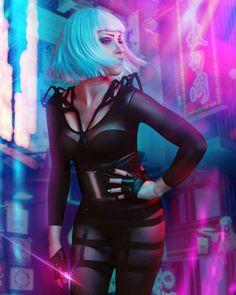 Cyberpunk Photoshoot, kurzhaarige Cyberpunk-Androidenfrau, in futuristischem . Cyberpunk 2077, Cyberpunk Mode, Cyberpunk Kunst, Cyberpunk Aesthetic, Cyberpunk Girl, Cyberpunk Fashion, Character Inspiration, Character Art, Character Design