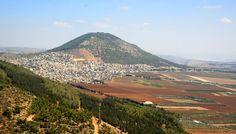 Green hills along the Israel National Trail, near Jerusalem.