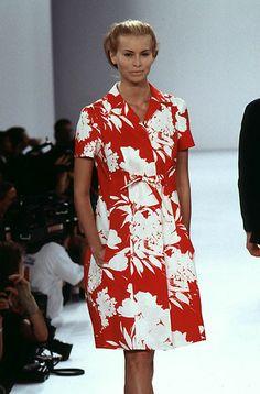 Niki Taylor - Isaac Mizrahi summer 1996