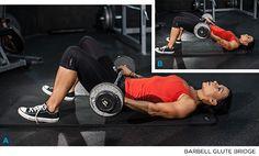 Barbell Glute Bridge - Glute Training For Women - Bodybuilding.com