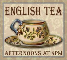 """The British are famous for their afternoon """"Tea Time"""".  Thank You for stopping by and I hope you will stay and join me for a spot of tea!"""