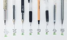 """pen review post thing kind of by @somestudy""""(or: ella owns too many black pens for her own good) my previous pen review post, if you're interested ~~ warning: this is going to be a long-ish post """" • muji 4-in-1 multi pen: this has been my go-to pen..."""