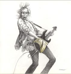 The Humorous Musical Drawings of Claude Serre Comedy Memes, Funny Illustration, Music Pictures, Claude, Plexus Products, Cartoon Drawings, Good Music, Rock And Roll, Musicals