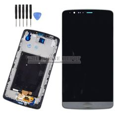 For lg g3 d855 d850 lcd & #digitizer touch #screen #assembly black/ grey + frame ,  View more on the LINK: 	http://www.zeppy.io/product/gb/2/231819935458/