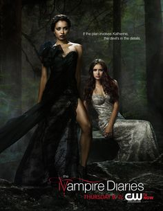 Promotional Poster for The Vampire Diaries - May sweeps poster - Season 4 - TVD is all new Thursday at 8/7c! #TVD