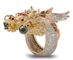 London Manori Dragon Jewellery For Chinese New Year of the Dragon #yeardragon