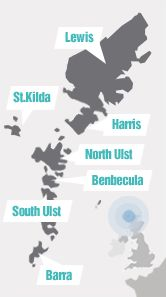 Welcome to the Outer Hebrides: The Official Tourism Information Website SOuter Hebridesituated on Europe's Atlantic edge, the Scottish Western Isles of the Outer Hebrides are a diverse chain of inter-connected islands with their own unique way of life.