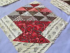 20 antique late 1800's basket quilt blocks hand stitched beautiful cotton, eBay, frosty