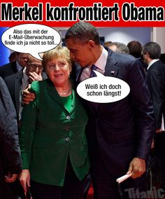 Was haben Angela Merkel #BRD und Thomas Vollmoeller #XING gemeinsam? #Neuland Fotoquelle: #Titanic
