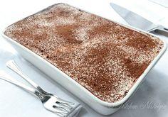 Easy Tiramisu Recipe. I love that there is no custard involved in this..