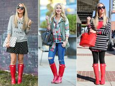 Hunter Boots Outfit More