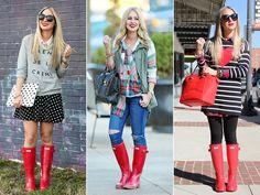 yellow Hunter boots | Hunter Boots | Pinterest #hunter #boots ...