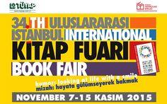 """""""Mizah"""" temalı 34. Uluslararası İstanbul Kitap Fuarı  7 Kasım'da başlıyor"""