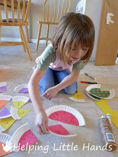 Math - fractions for kindergarteners