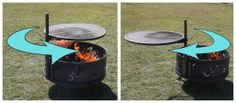 ROTATOR - like the idea of a swinging hotplate. Good for camping?