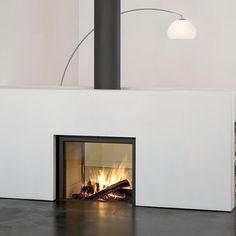 Stuv See Thru Wood Fireplace Friendly Fires