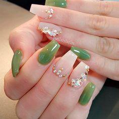Best Long Nail Designs for Glamorous Girls ★ See more: https://naildesignsjournal.com/best-long-nail-designs/ #nails