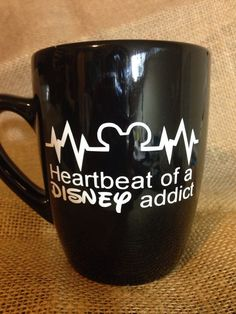 17. Disney Heartbeat Mug | Community Post: 17 Spectacular Mugs For Every Disney Fanatic