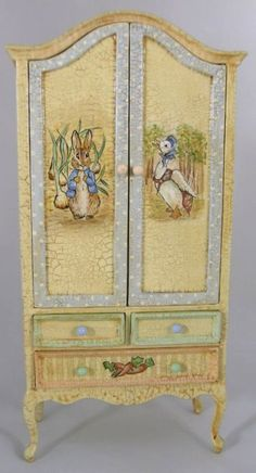 Peter Rabbit Cupboard