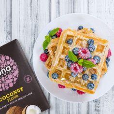 Biona - Breakfast Rich In Protein, Gluten Free Treats, Breakfast, Recipes, Food, Coconut Flour, Waffles, Gentleness, Morning Coffee