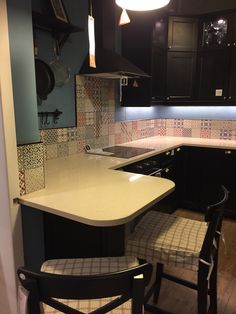 Gorgeous kitchen tiles