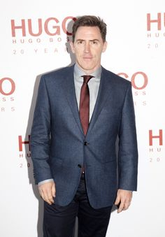 Comedian #RobBrydon in #boss #hugoboss #fashion