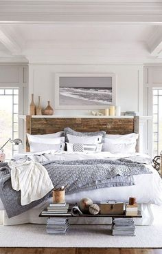 Gorgeous Rustic Farmhouse Master Bedroom Ideas 47