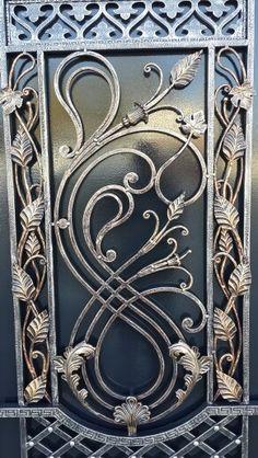 Facts About The Iron Gazebo - Home Gazebo Wrought Iron Decor, Wrought Iron Gates, Iron Window Grill, Iron Furniture, Iron Art, Iron Doors, Steel Doors, Copper House, Door Design