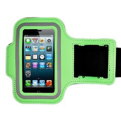 iPhone 5 Armband in Green