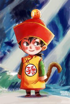 #13 Child Son Gohan by MimsCosta