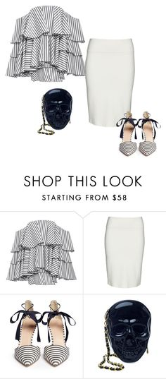 """""""Untitled #6916"""" by tailichuns ❤ liked on Polyvore featuring Caroline Constas, Yoek, J.Crew and Loungefly"""