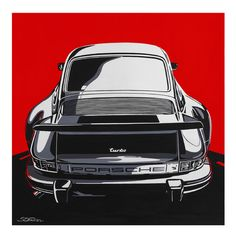 Porsche Turbo 74 print now available at The Petersen Store. Limited to only 200 prints made!!