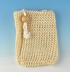 Drawstring Soap Pouches - exfoliate, bath, body